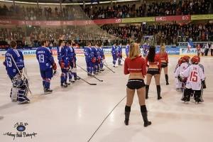 Les Pom Pom Girls Des Alpes hockey sur glace avril 2014 1