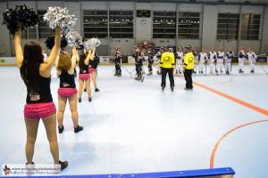 Yeti's, Grenoble, Roller Hockey, Rouen, France, Pompom Girls des Alpes (14)