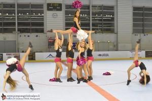 Yeti's, Grenoble, Roller Hockey, Rouen, France, Pompom Girls des Alpes (17)